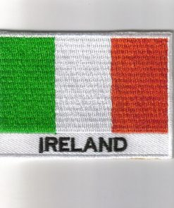 Ireland embroidered patches - country flag Ireland patches / iron on badges