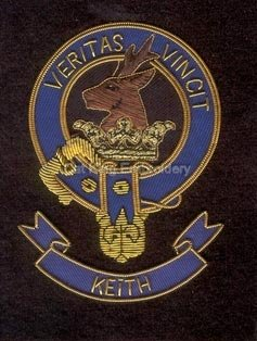 Keith clan crest badge - Veritas Vincit