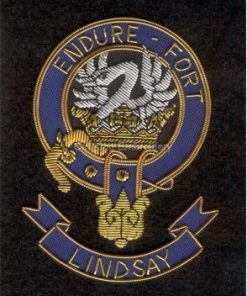 Lindsay clan crest badge - Endure Fort