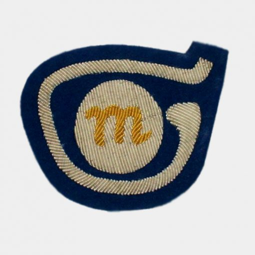 M-logo Embroidred badge