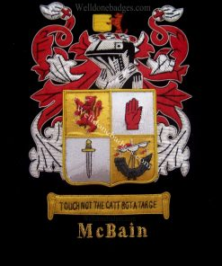 Mcbain Family Crest /  Mcbain Coat of arms