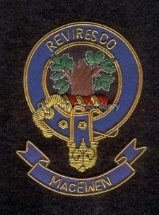macewen clan crest badge - Reviresco
