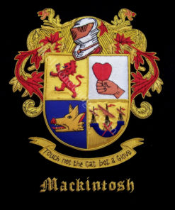 Macrintosh Family Crest /  Macrintosh Coat of arms