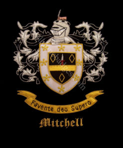 Mitchell Family Crest /  Mitchell Coat of arms