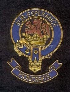 Moncreiffe clan crest badge - Sur Esperance