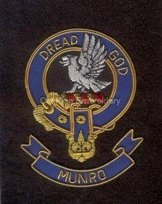 Munro clan crest badge - Dread God