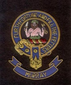 Murray clan crest badge - Furth Fortune And Fill The Fetters