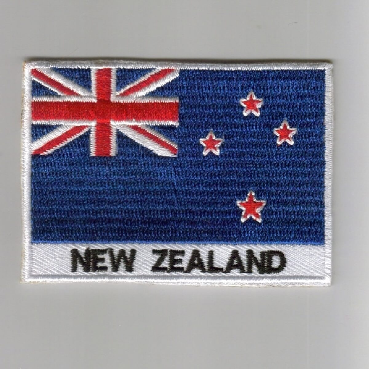 NewZealand Embroidered Patches  Country Flag NewZealand