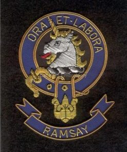 Ramsay clan crest badge - Ora Et Labora