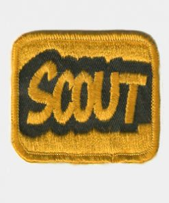 Scout Embroidered Patches
