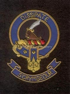 Scrymgeour clan crest badge - Dissipate