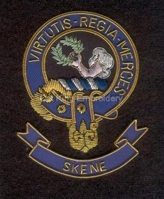 Skene clan crest badge - Virtutis Regia Merces