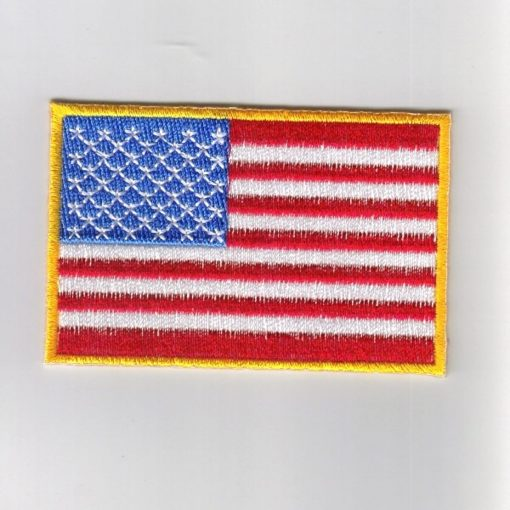 USA embroidered patches - country flag USA patches / iron on badges