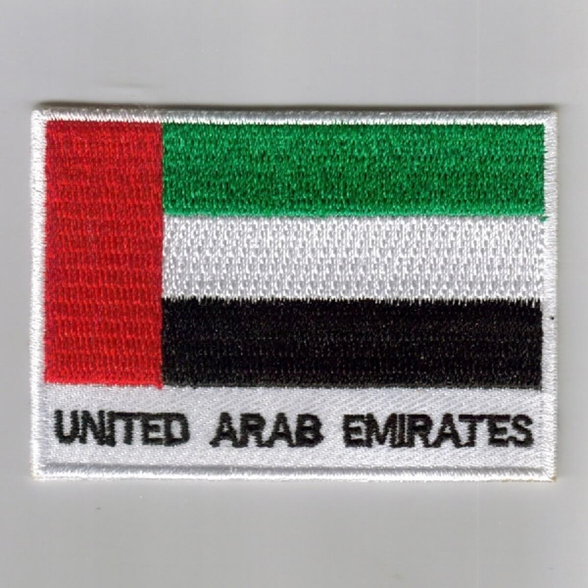 Embroidered Flag Badges