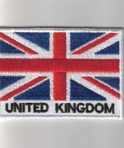 United-Kingdom embroidered patches - country flag United-Kingdom patches / iron on badges