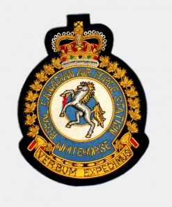White Horse Squadron Blazer Badge – Royal Air Force ( RAF )