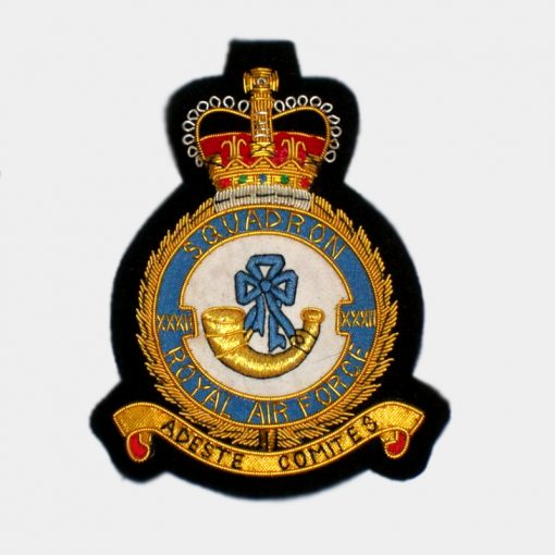 XXXII Squadron badges - Royal Air Force (RAF)