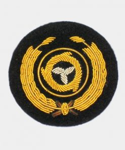 circle badge Embroidred badge