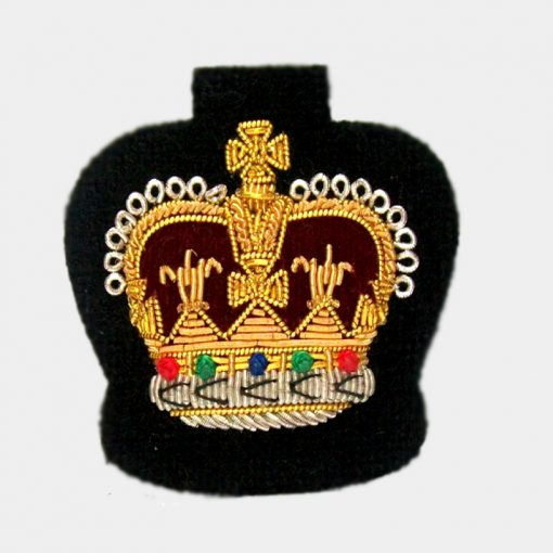 crown badge Embroidred badge