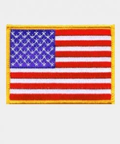 Flag Embroidered Patches