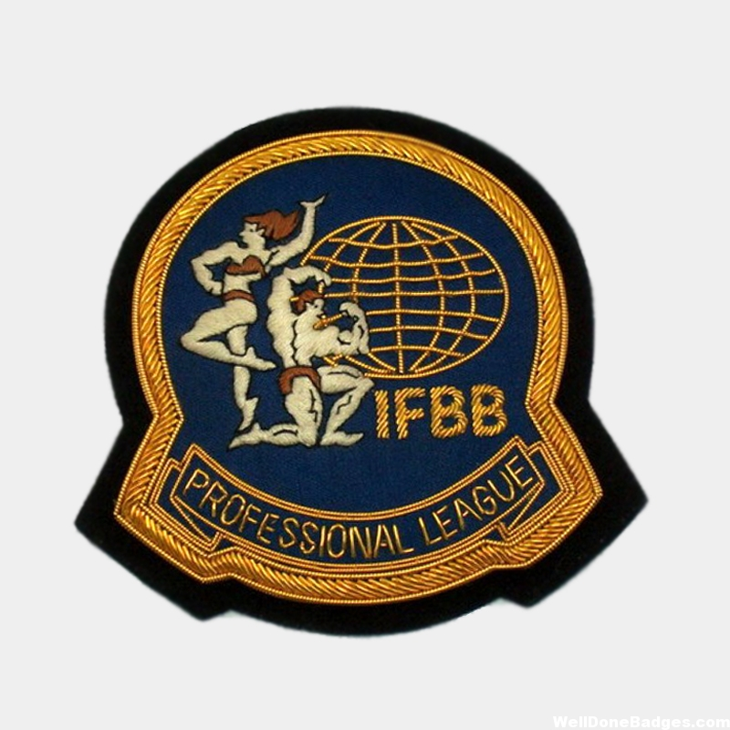 IFBB Embroidered badge