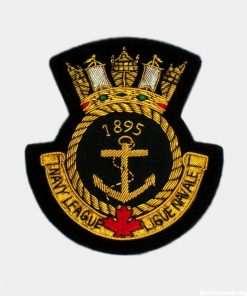 Navy Lesague Ligue Navale Embroiderd badge