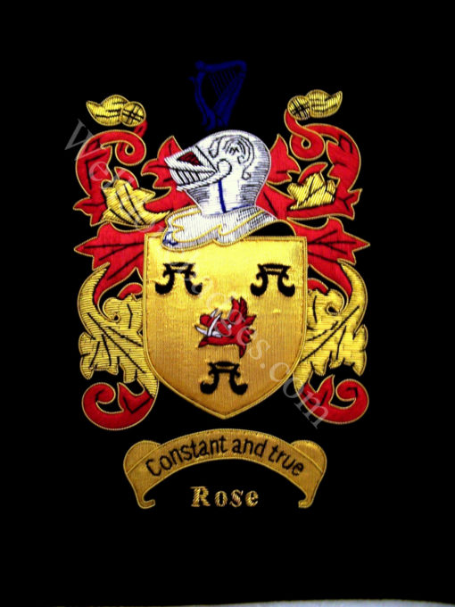 Rose Family Crest / Rose Coat of arms