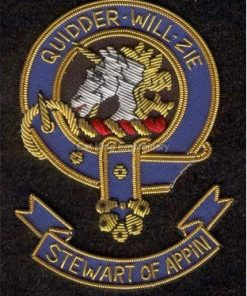 stewart of appin clan crest badge - Quidder Will Zie
