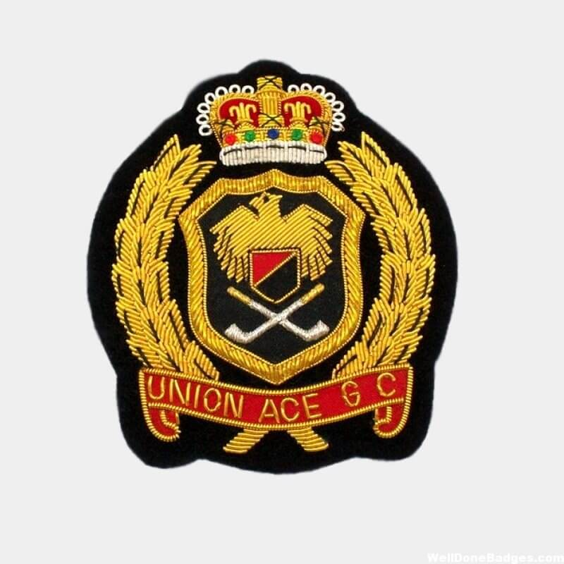 Union Ace GC Embroidered badge