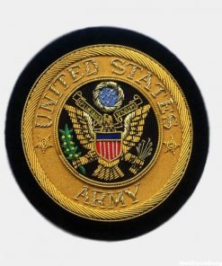 US Army Bullion Crests - Hand Military Embroidered Blazer Patches