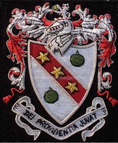 Wellman Family Crest Heritage Blazer Patch